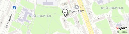 Командор на карте Ангарска