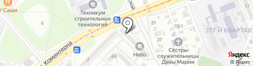 Бюро бухгалтерских услуг на карте Ангарска