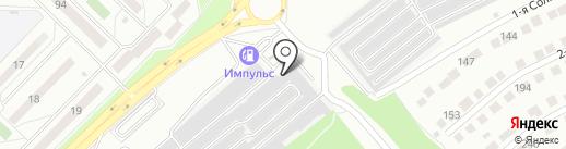 Авторемонт на карте Ангарска