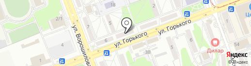 Eve-tour на карте Ангарска