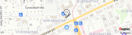Стройкомплекс, ЗАО на карте Ангарска