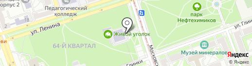Фортуна на карте Ангарска