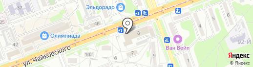 БМПК на карте Ангарска