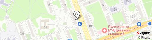 Люкс-сервис на карте Ангарска