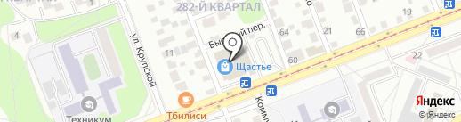 Алмаз на карте Ангарска