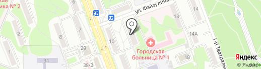 Замкофф на карте Ангарска
