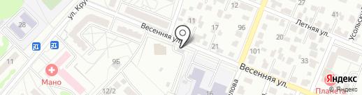 У Автоса на карте Ангарска
