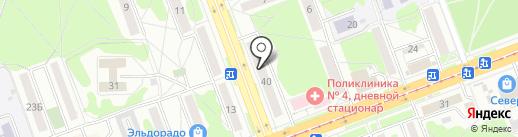 Адвокатский кабинет Богачевой Т.А. на карте Ангарска