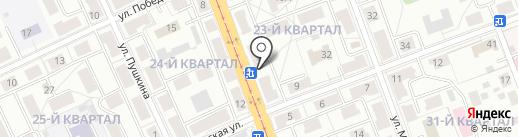 Аптека Здоровье на карте Ангарска