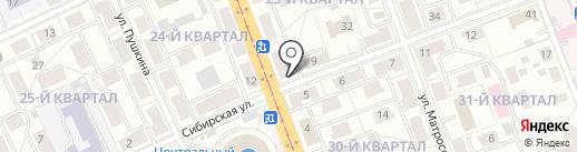 Baron на карте Ангарска