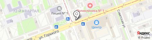 Мой мастер на карте Ангарска