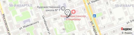 Городская Курьерская Служба на карте Ангарска