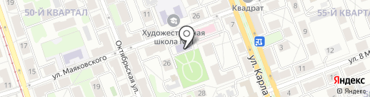 Близко к Сердцу на карте Ангарска
