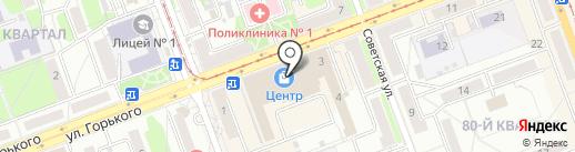 АнгарскЭлементСервис на карте Ангарска