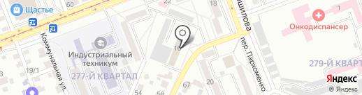 Испытательная пожарная лаборатория на карте Ангарска