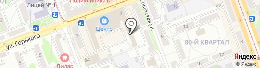 Альтернатива38 на карте Ангарска