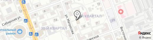 Мини-гостиница на карте Ангарска