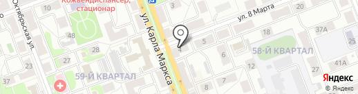 BeerCross на карте Ангарска