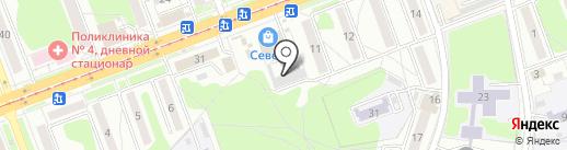 Ателье на карте Ангарска