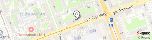 Egoist на карте Ангарска
