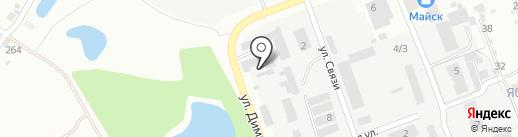 Шиномонтажная мастерская на карте Ангарска