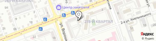 Автолайн на карте Ангарска