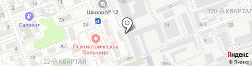 PONY EXPRESS на карте Ангарска