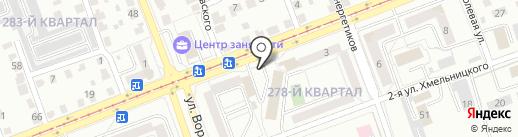 Экономный на карте Ангарска