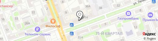 Карапуз на карте Ангарска