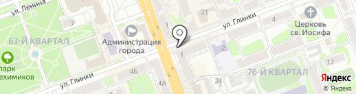 Ваш выбор на карте Ангарска