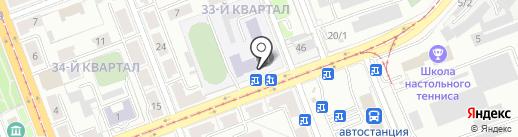 Иркутский колледж экономики, сервиса и туризма на карте Ангарска
