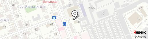 Мегаполис на карте Ангарска