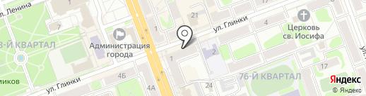 Ангарские ведомости на карте Ангарска