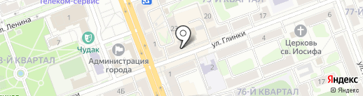 Elegance на карте Ангарска