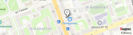 Класс на карте Ангарска