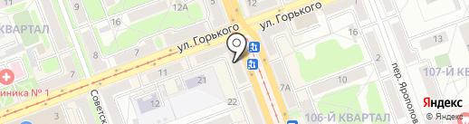 Билайн на карте Ангарска