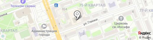 Киото на карте Ангарска