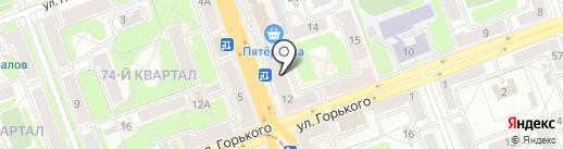 SubWay на карте Ангарска