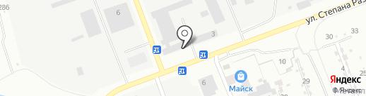 Км24 на карте Ангарска