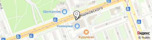 Сагаан гол на карте Ангарска