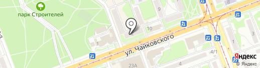 Банкомат, Восточный экспресс банк, ПАО на карте Ангарска