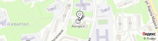 АНГАРА АВТОТРАНС на карте Ангарска
