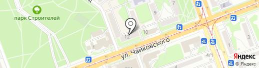 Метраж на карте Ангарска