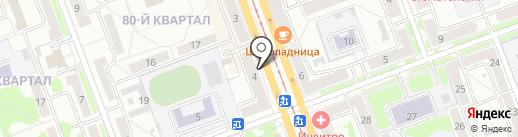 Министерство здравоохранения Иркутской области на карте Ангарска