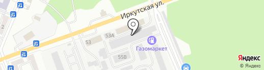 Магазин запчастей для китайских грузовиков и спецтехники на карте Ангарска