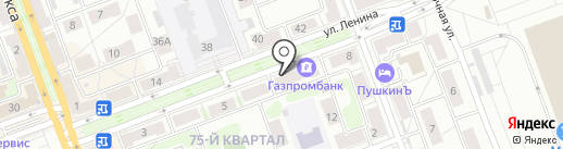 Говинда на карте Ангарска