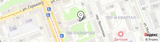 Адвокатский кабинет Озарчук А.Ю. на карте Ангарска