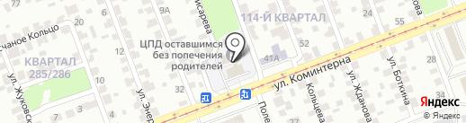 Управление социальной защиты населения по г. Иркутску на карте Ангарска