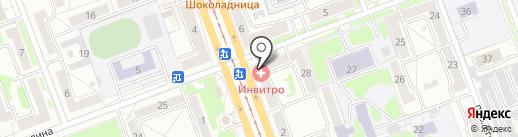 Fox на карте Ангарска