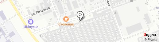 Майск 1 на карте Ангарска